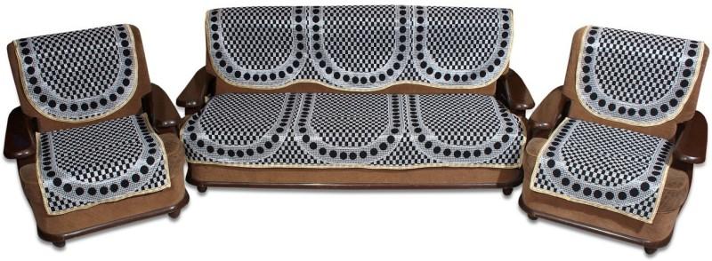 Yellow Weaves WI669 Geomatric Design Sofa Fabric(Black 1.78 m)