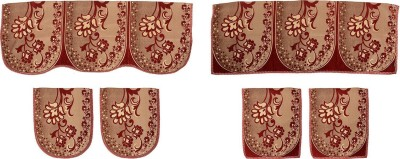 SurprizeMe SFS0067 Sofa Fabric(Maroon 12 m)