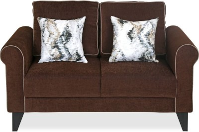 @home by Nilkamal Shelby Fabric 2 Seater Sofa