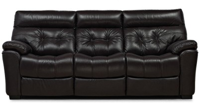 @home by Nilkamal Beverly Leather 3 Seater Sofa