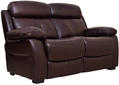 HomeTown Titan Half-leather 2 Seater Sectional