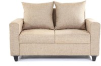 Furnicity Fabric 2 Seater Sofa(Finish Color - Beige)