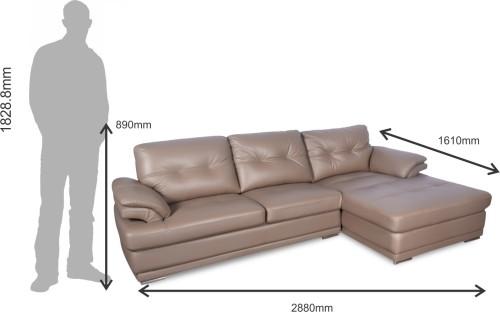 Buy Godrej Interio Leatherette 3 Seater Sofa Finish Color Grey At