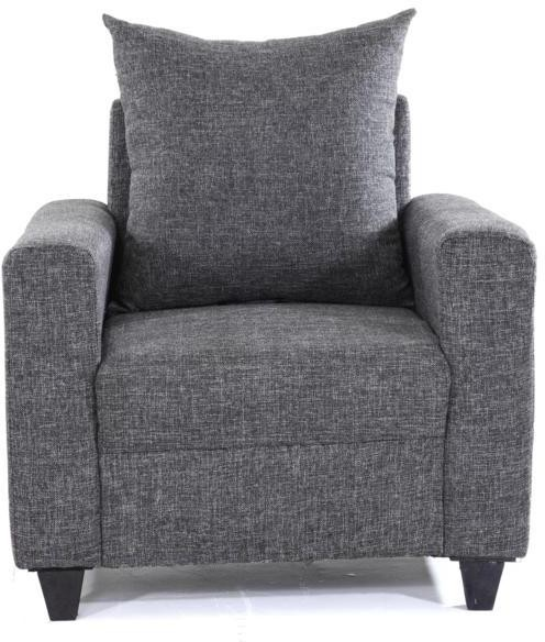 Furnicity Fabric 1 Seater Sofa class=