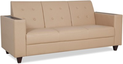 HomeTown Valerie Leatherette 3 Seater Sectional