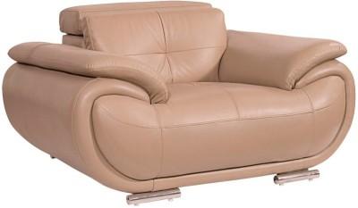 Homecity Leatherette 1 Seater Sofa