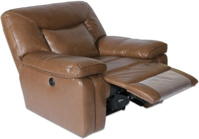 HomeTown Indulge Half-leather 1 Seater Sectional