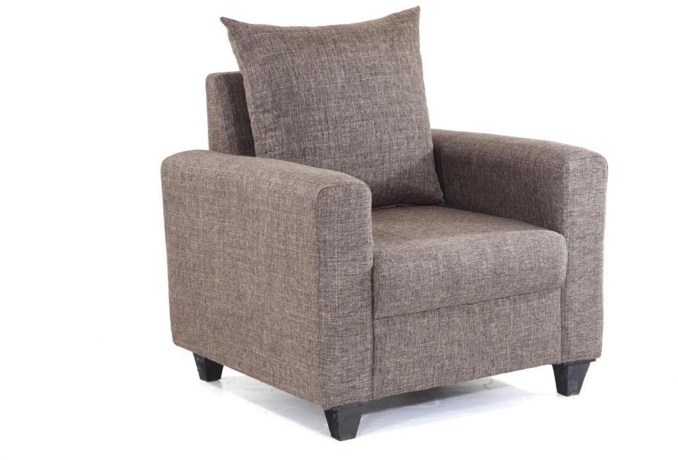 Furnicity Fabric 1 Seater Sofa