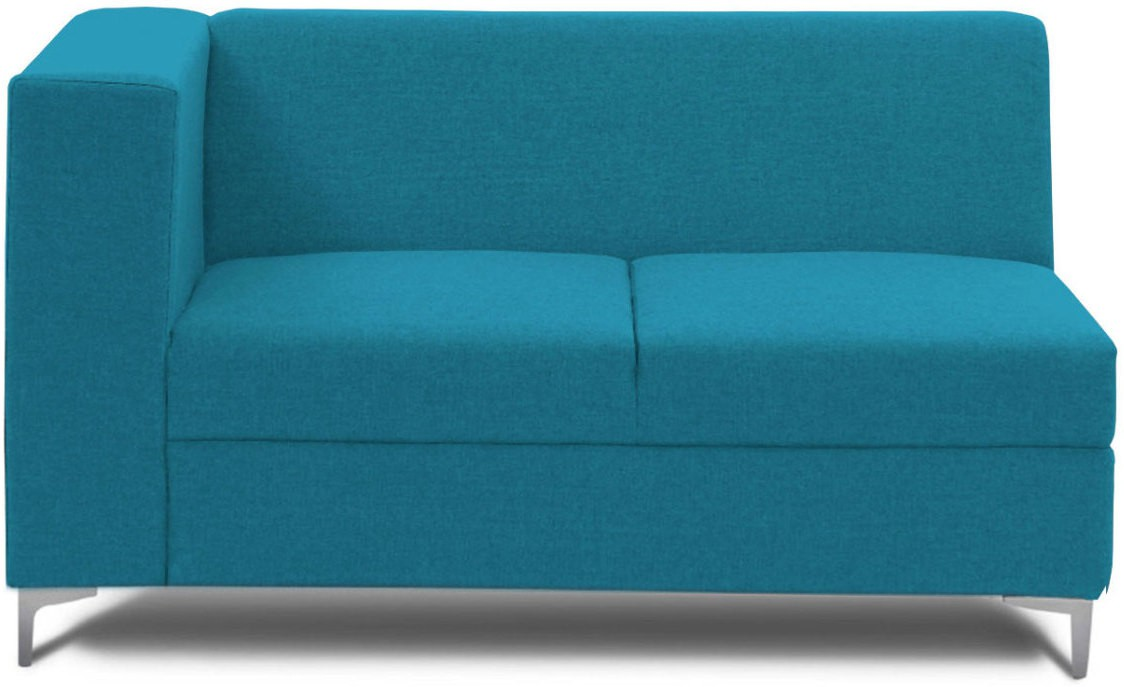 View Stoa Paris Fabric 2 Seater Sectional(Finish Color - Blue) Price Online(Stoa Paris)