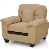 Royal Oak Iris Fabric 1 Seater Sofa (Fin...