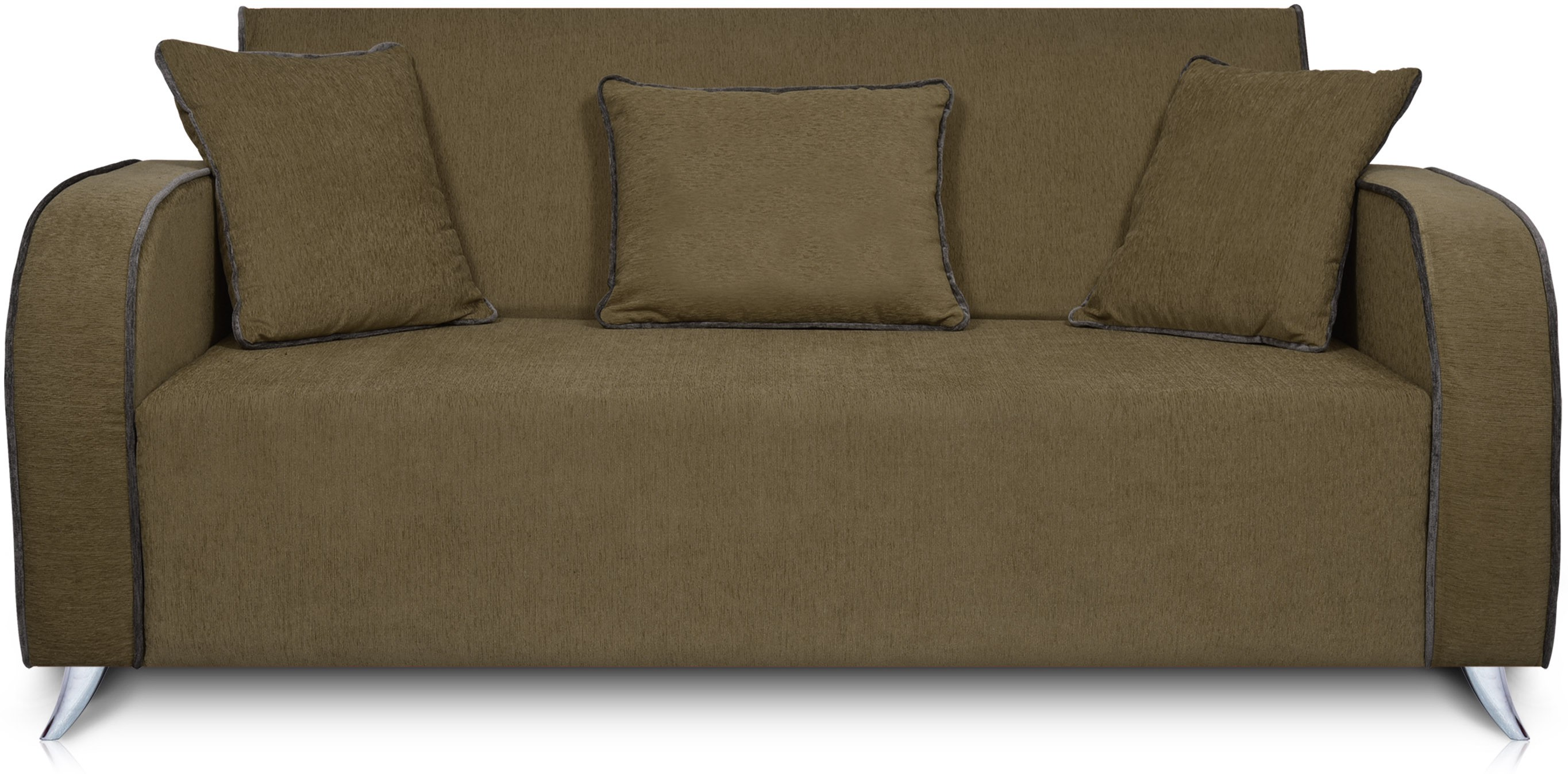 Dolphin Cabana Solid Wood 2 Seater Sectional