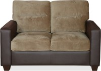 @home by Nilkamal Fendi 2S Leatherette 2 Seater Sofa(Finish Color - Dark Brown)