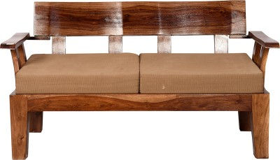 Induscraft Solid Wood 2 Seater Sofa