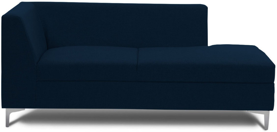 View Stoa Paris Fabric 3 Seater Sectional(Finish Color - Blue) Price Online(Stoa Paris)
