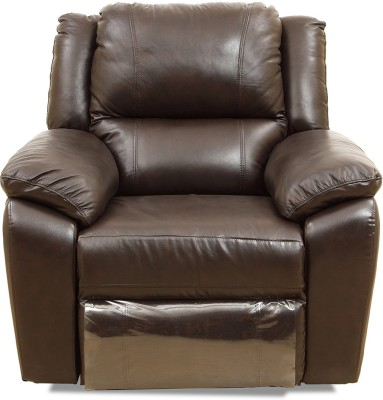 HomeTown Alexander Leather 1 Seater Sofa