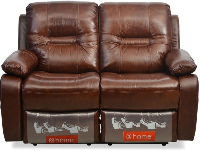 @home by Nilkamal Wilson Half-leather 2 Seater Sectional