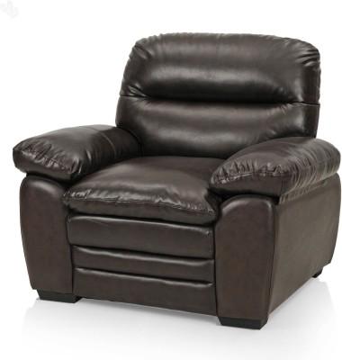 Royal Oak Brio Bonded Leather 1 Seater Sofa