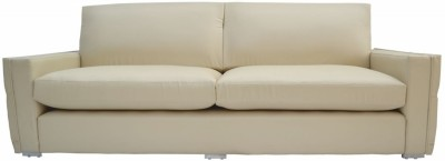 Furnstyl Parcour Leather 4 Seater Sofa
