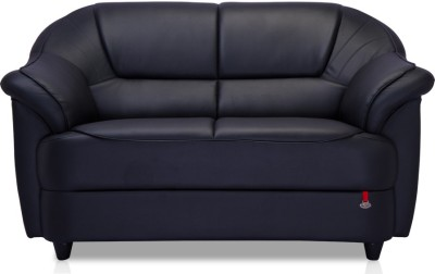 Durian Berry Leatherette 2 Seater Sofa