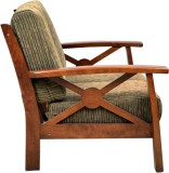 HomeTown Winston Solid Wood 3 Seater Sof...
