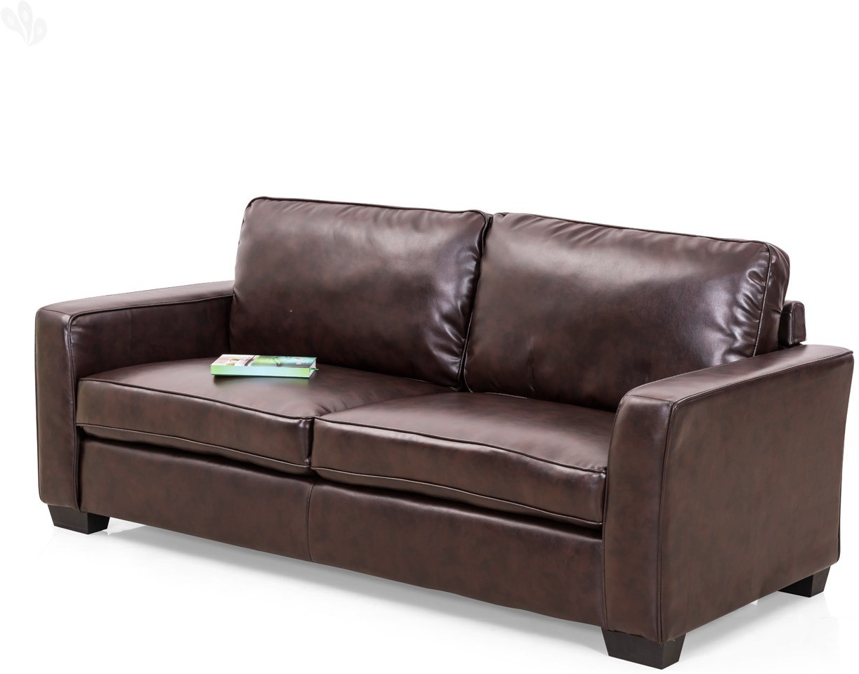Royal Oak Daisy Leatherette 3 Seater Sofa