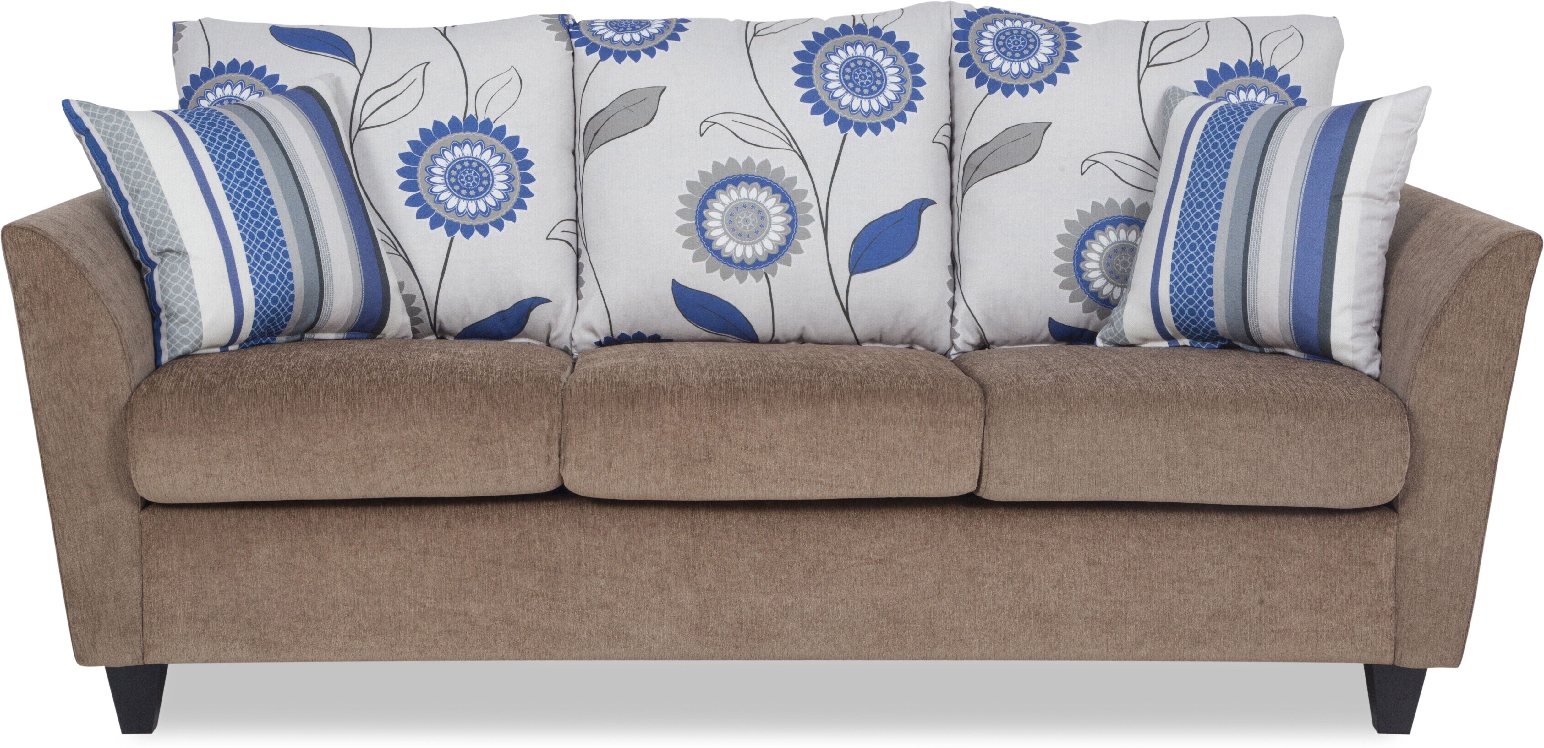 Urban Living Solid Wood 3 Seater Sofa