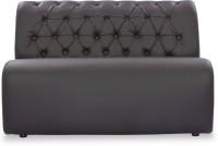 Durian BID/32625 Leatherette 2 Seater Sofa(Finish Color - Black)