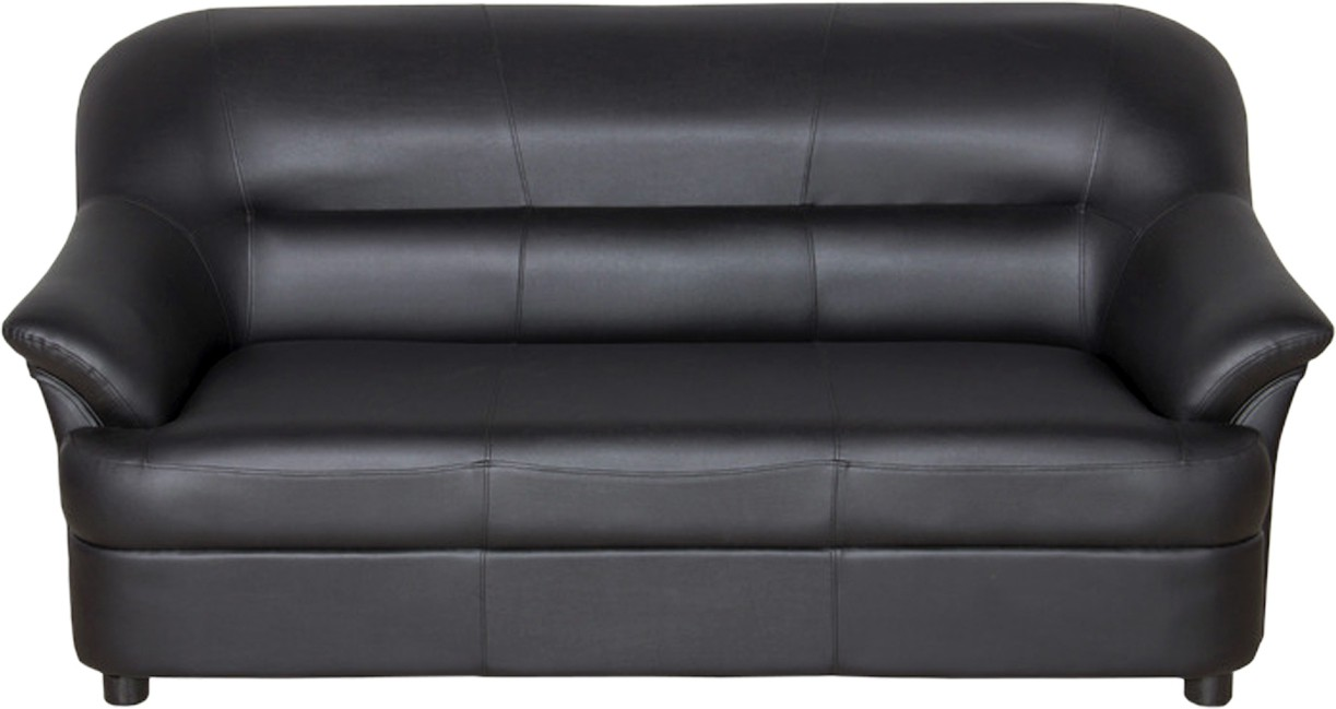 View Sethu Furniture Fabric 3 Seater Sofa(Finish Color - Black) Furniture (Sethu Furniture)