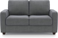 Urban Ladder Apollo Compact Fabric 2 Seater Sofa(Finish Color - Smoke)