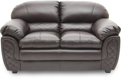 HomeTown Mirage_br Leatherette 2 Seater Sofa