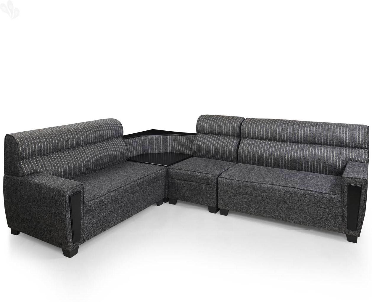 Royal Oak Geneva Solid Wood 5 Seater Sofa class=