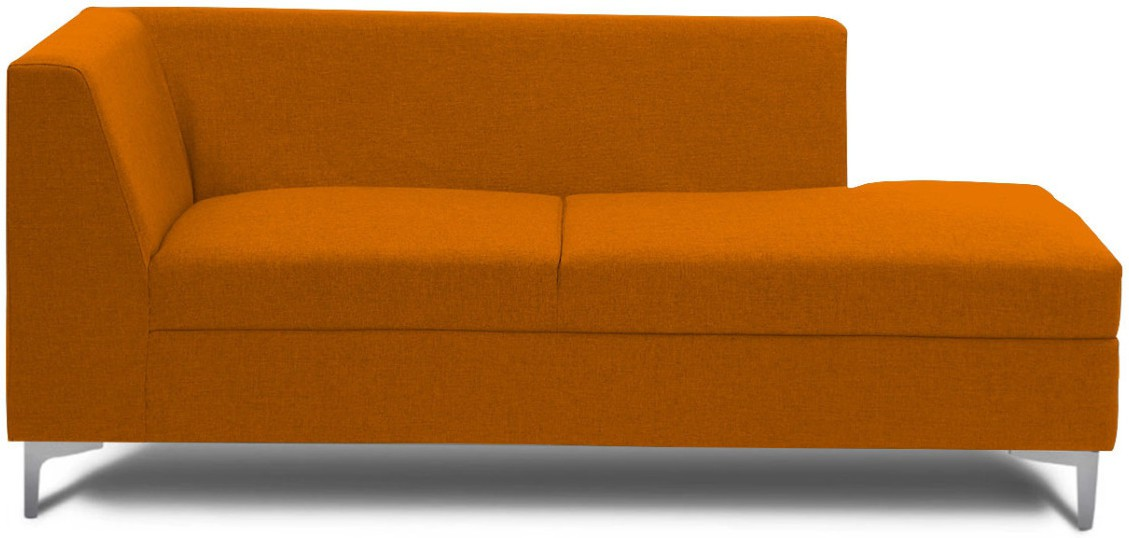 View Stoa Paris Fabric 3 Seater Sectional(Finish Color - Orange) Price Online(Stoa Paris)