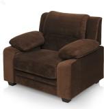 Royal Oak Magna Fabric 1 Seater Sofa (Fi...