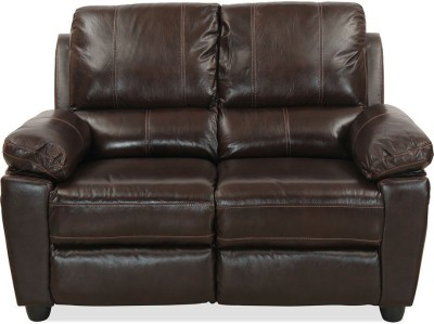 @home by Nilkamal Marshall Half-leather 2 Seater Sofa