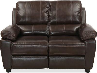 @home by Nilkamal Marshall Half-leather 2 Seater Sofa