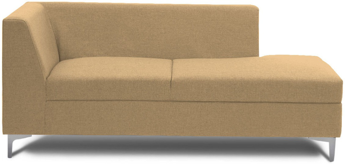 View Stoa Paris Fabric 3 Seater Sectional(Finish Color - Beige) Price Online(Stoa Paris)