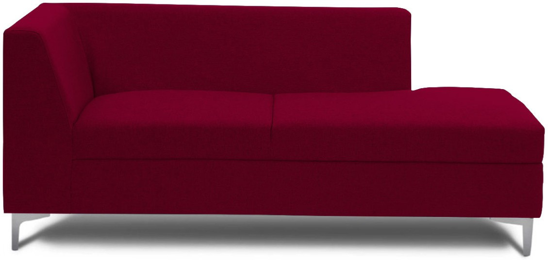 View Stoa Paris Fabric 3 Seater Sectional(Finish Color - Red) Price Online(Stoa Paris)