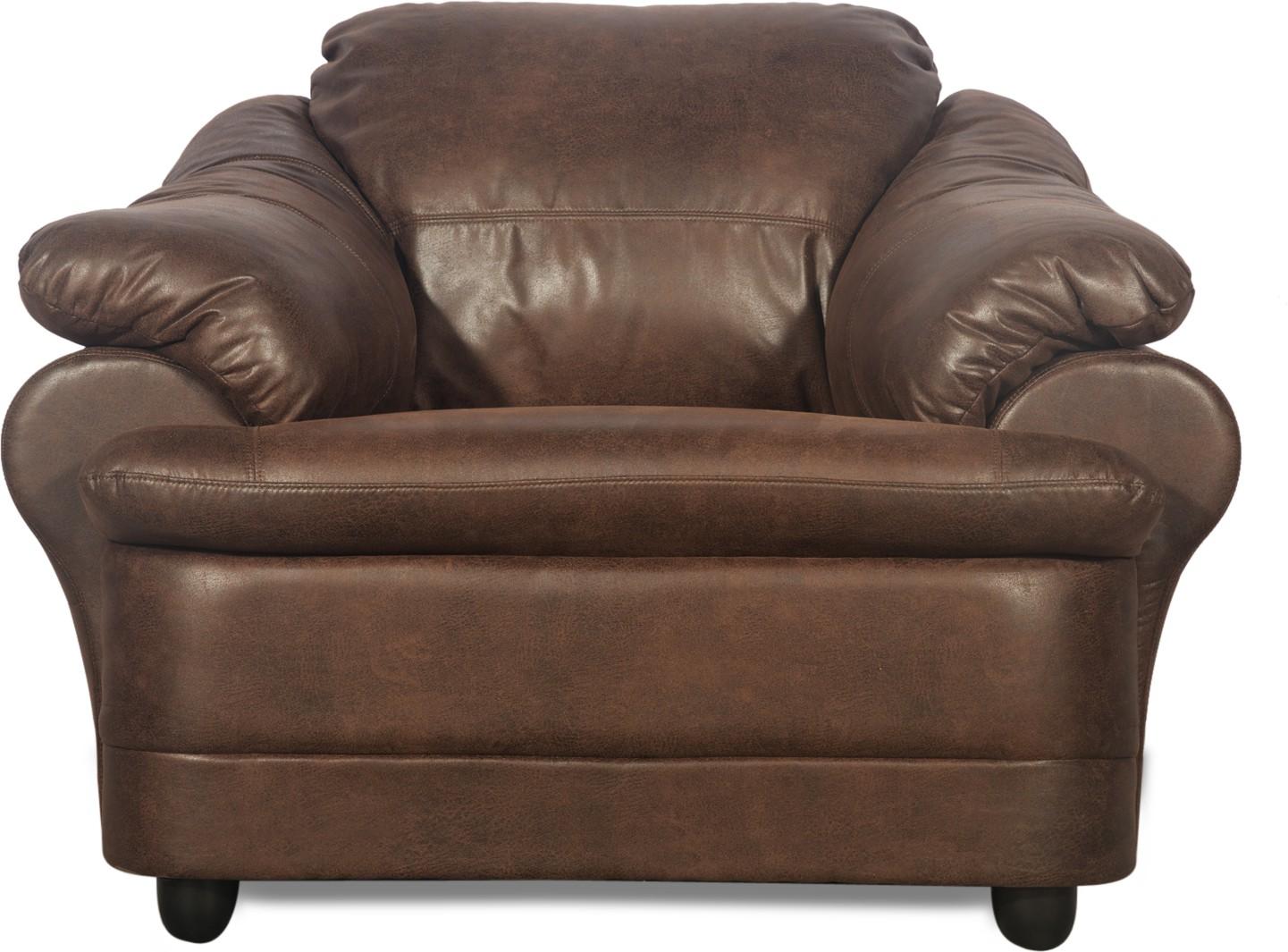 Godrej Interio Jineiro Leatherette 1 Seater Sofa Finish Color