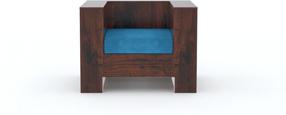 View Tezerac Solid Wood 1 Seater Sofa(Finish Color - Brown) Furniture (Tezerac)