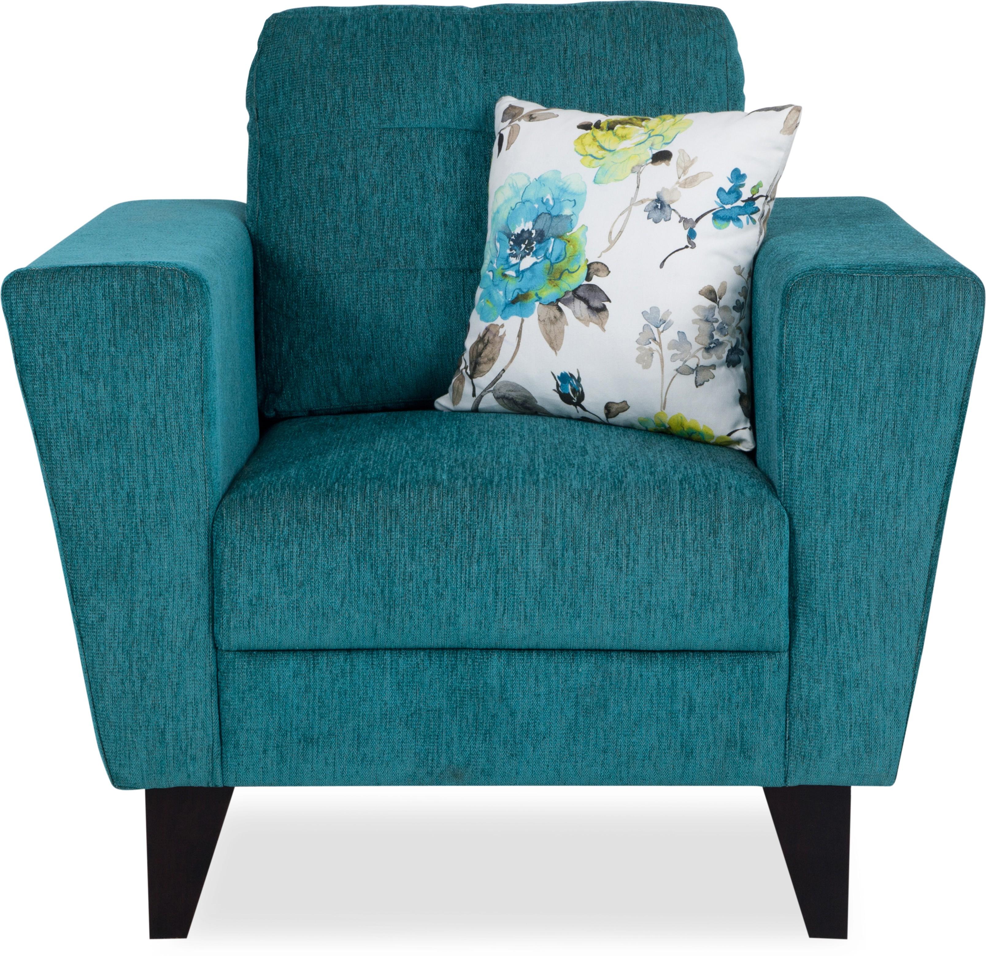 Urban Living Fabric 1 Seater Sofa