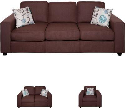 Evok Fabio 3 Seater Fabric 3 Seater Sofa