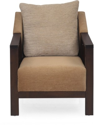@home by Nilkamal Chevy 1S Solid Wood 1 Seater Sofa