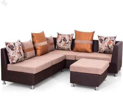 Royal Oak Atlas Fabric 5 Seater Sofa