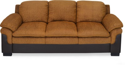 @home Synthetic Fiber 3 Seater Sofa