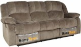 HomeTown Fabric 3 Seater Sofa (Finish Co...