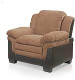 Royal Oak Fabric 1 Seater Sofa (Finish C...