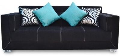 Furnstyl Maxwell Fabric 3 Seater Sofa