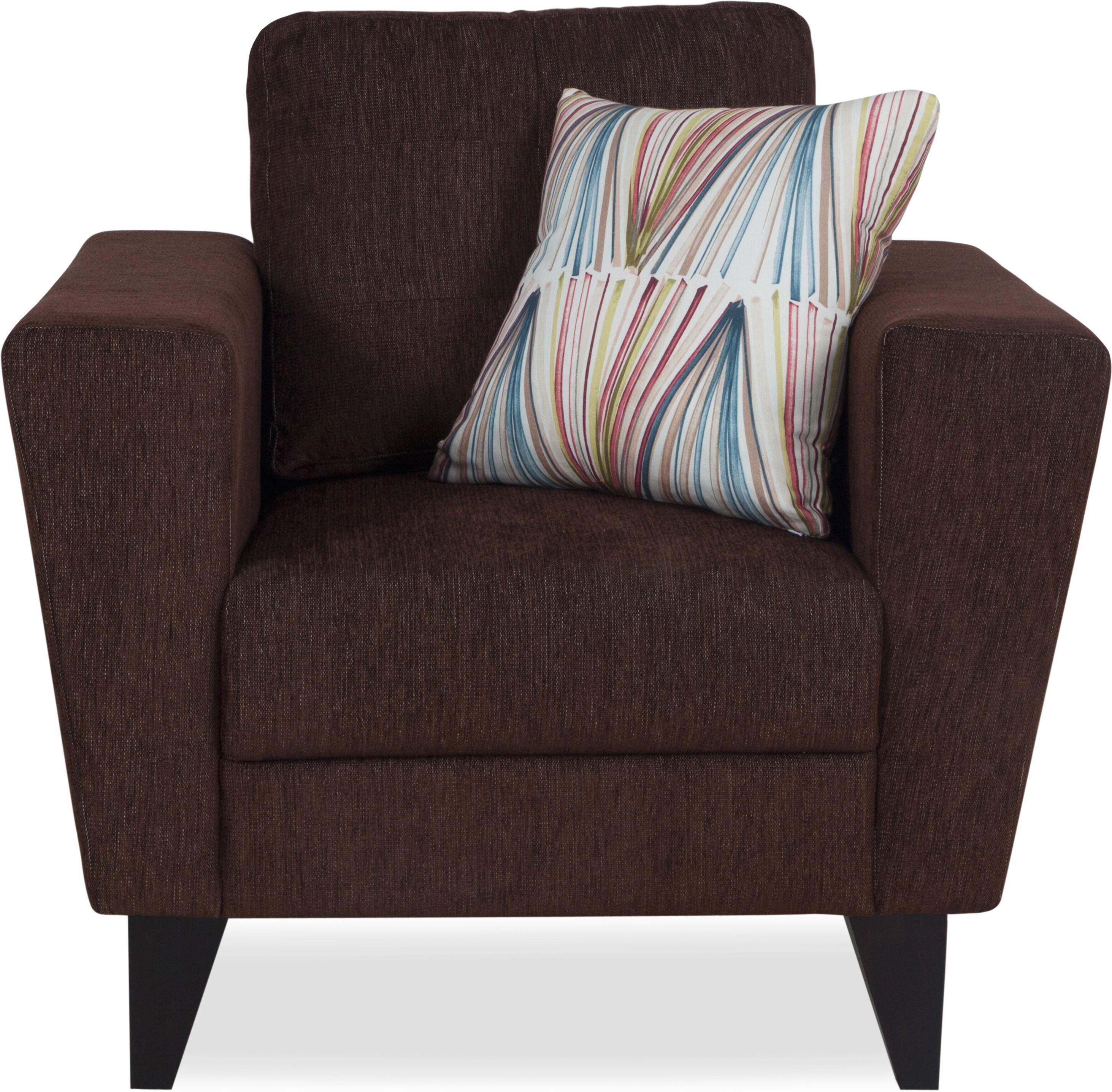Urban Living Bristol Fabric 1 Seater Sofa
