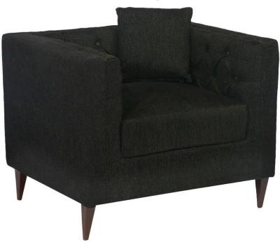Homecity Fabric 1 Seater Sofa