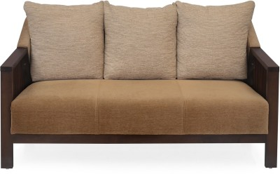 @home by Nilkamal Chevy 3S Solid Wood 3 Seater Sofa